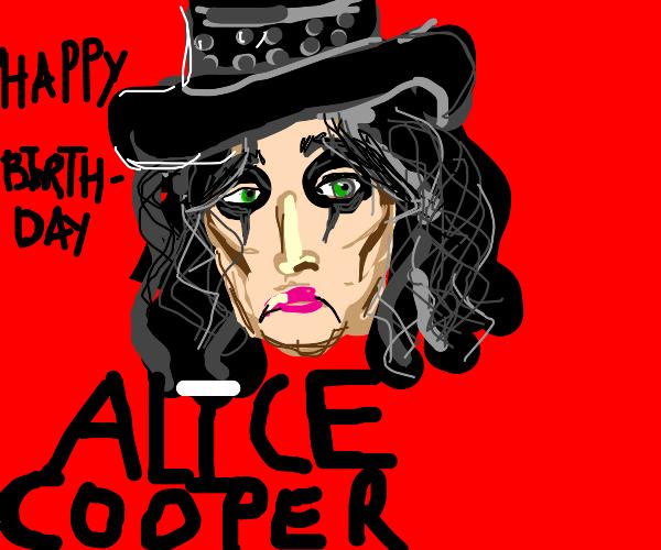 Happy birth Alice Cooper!