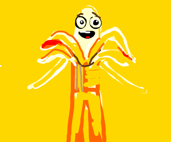 Radical depressed banana