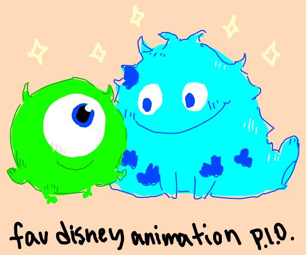 Fav disney animation P.I.O