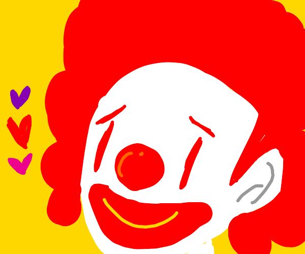 Ronald mc Donald loves you