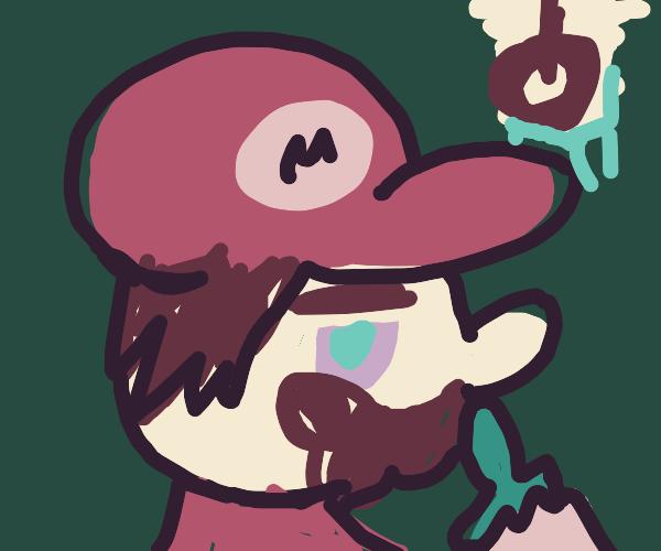 Hungover Mario