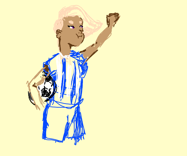 Glimmer is a FootBall player