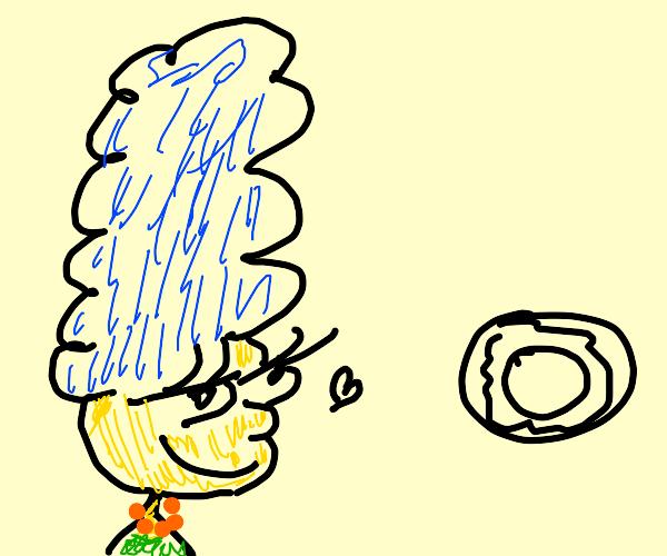 Marge Simpson Loves Donut