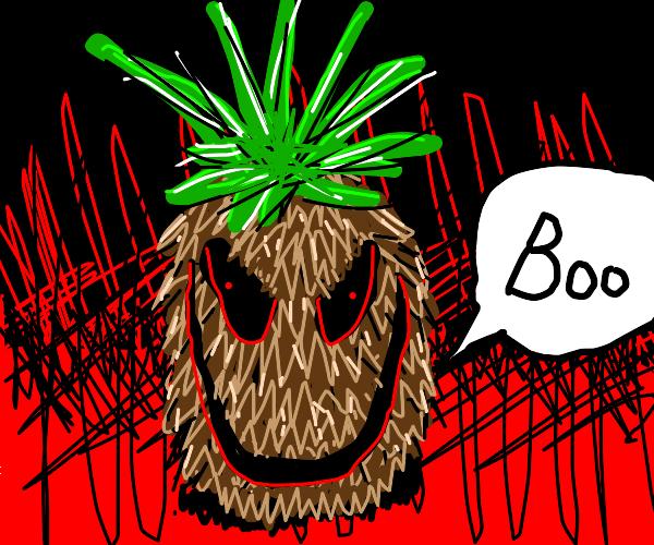 spoopy pineapple