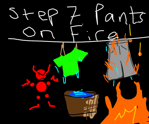 Step 6:Ask a demon to wash your clothes
