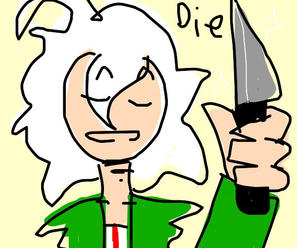 nagito about to stAb you-