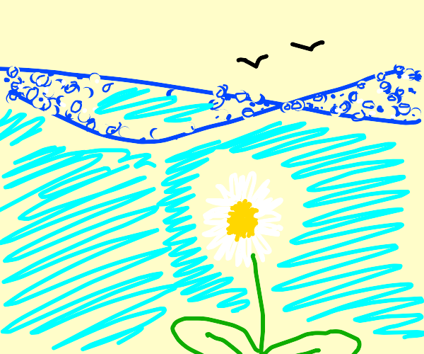 Underwater daisy