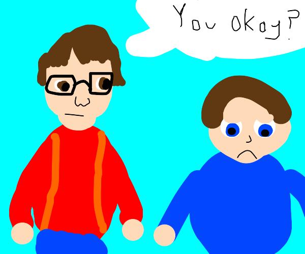 sonic fan asking if you're okay
