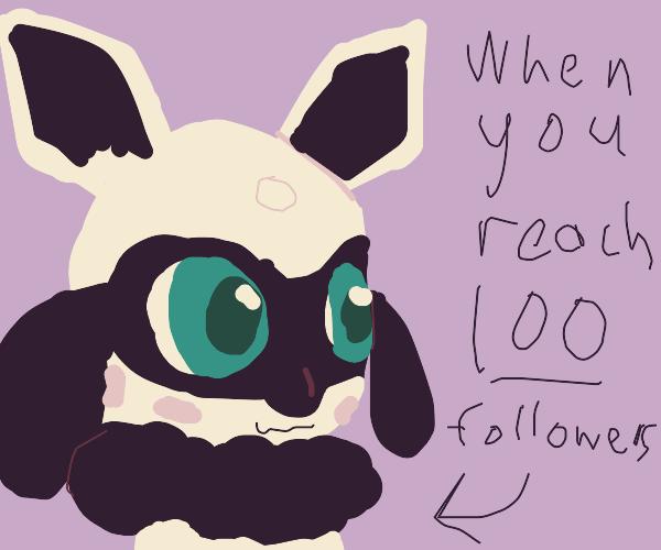 Shiny riolu from pokemon bc you got 100