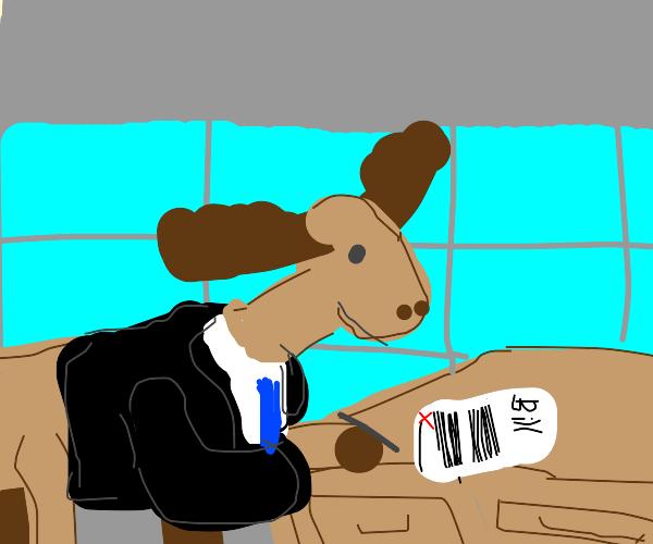 Moose president signing bill