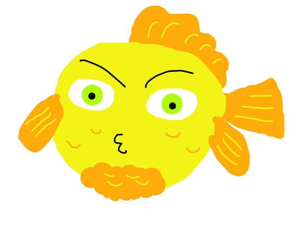 Green-haired, murderous goldfish