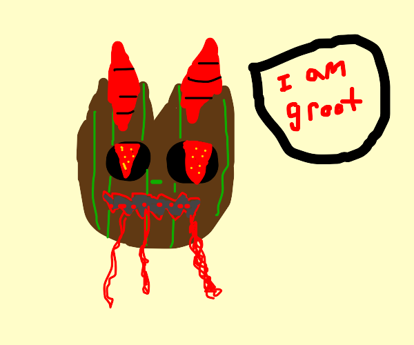spooky groot