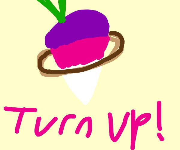 Turnip on Saturn