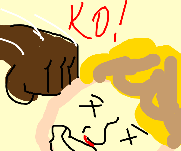 K.O.(OK K.O.!) d e s t r o y s Mineta (BNHA)