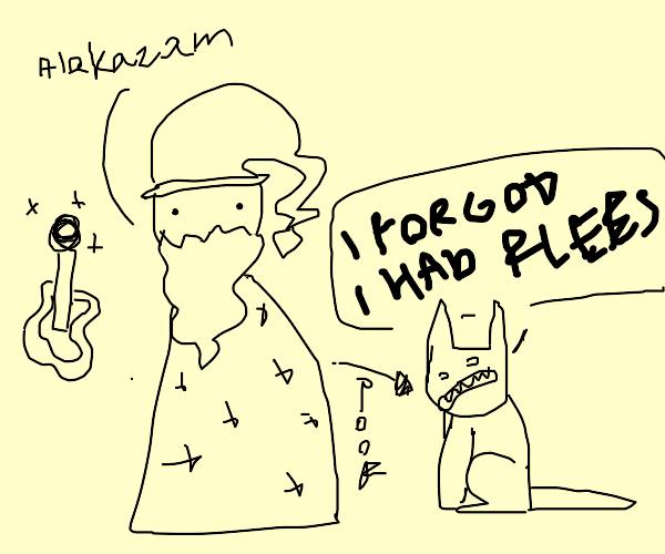 shapeshifting wizard