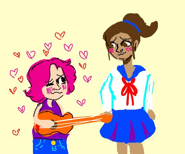 Guitarist falls in love with a schoolgirl