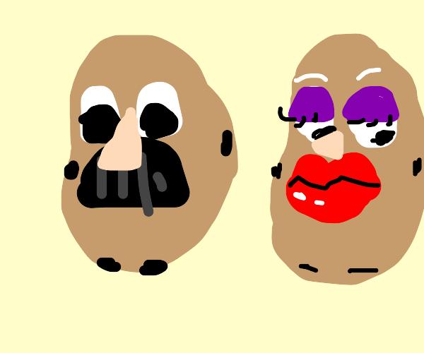 Limbless Mr. potatoheads