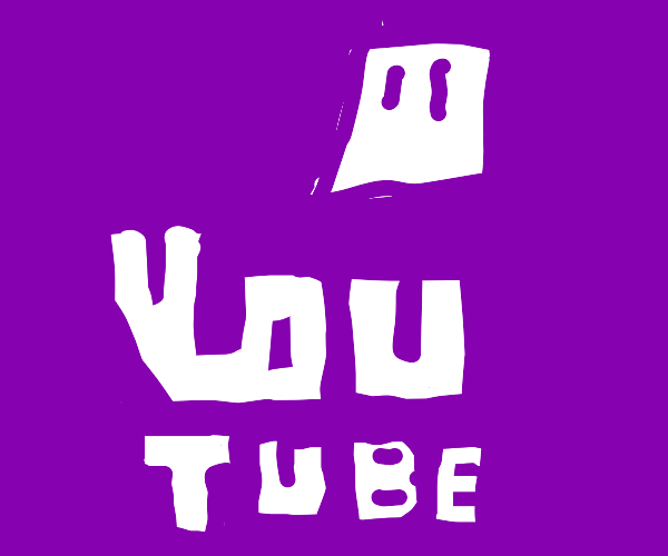 Twitch Logo but its titled youtube