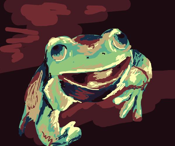 Frog burbing