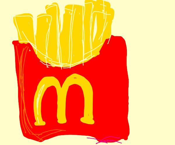 MacDonald Fries (: