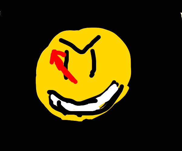 iFunny logo but maniacal