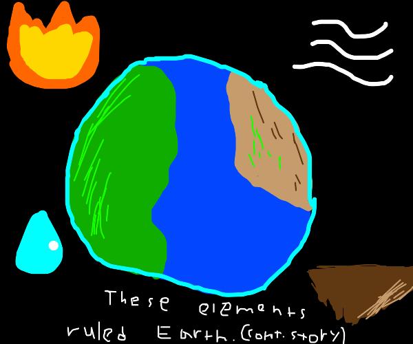 Water. Earth. Fire. Air. Long ago... (cont.)