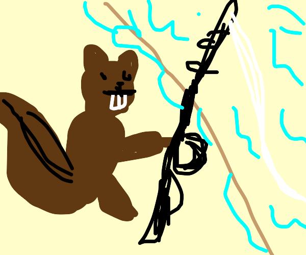 Squirrel Fishing