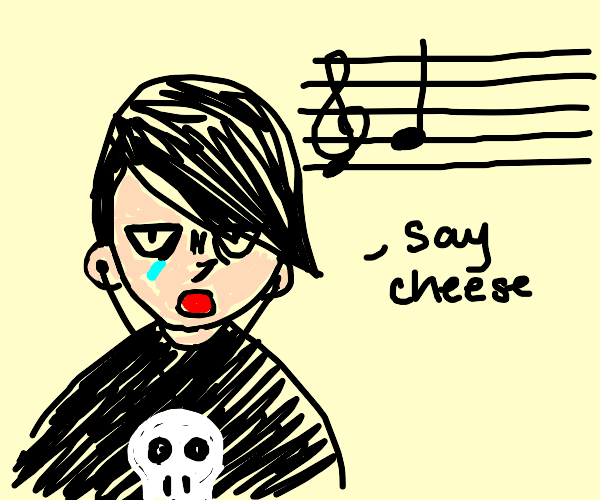 emo tells you to say cheese