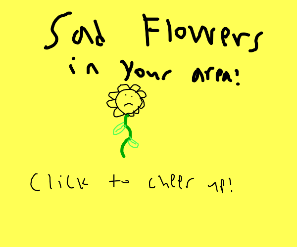 Click to cheer up the flower