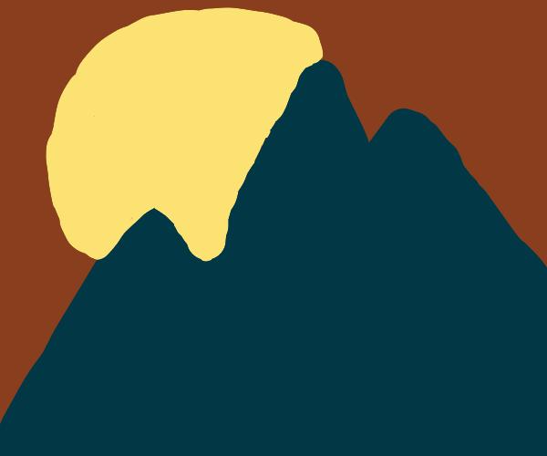 Serene mountains