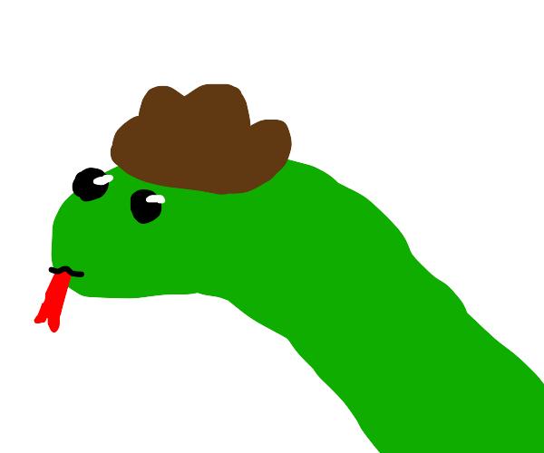 Cowboy snake