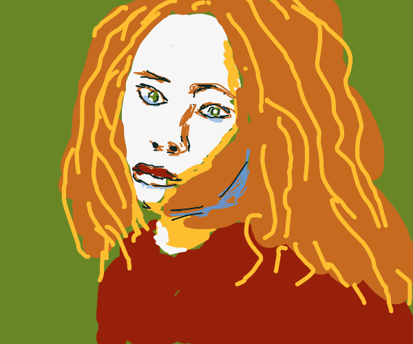 dreadlock girl with tears in her face