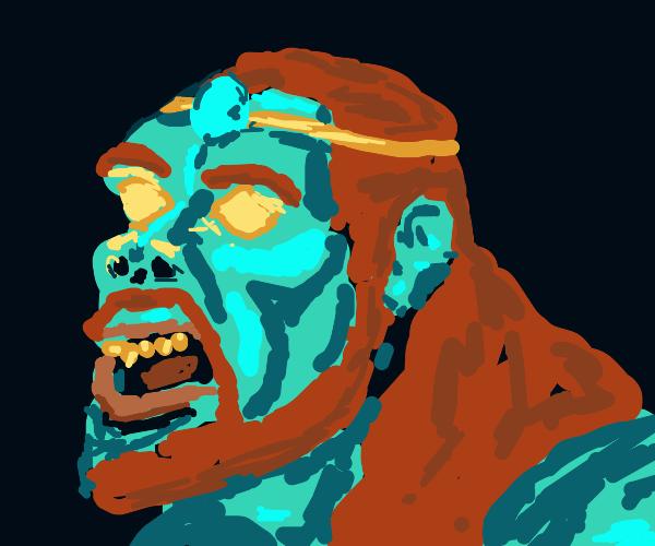 blue faced donkey kong