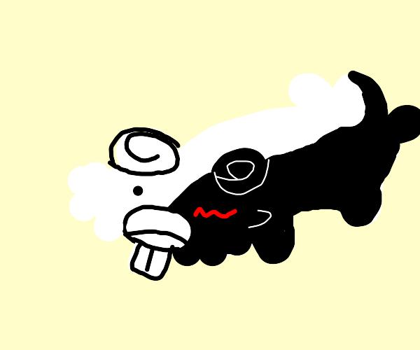 Monokuma as Bidoof