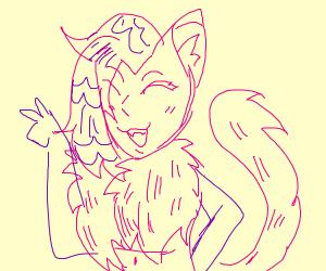 Puma From Your Nightmares Drawception