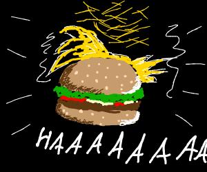 goku burger