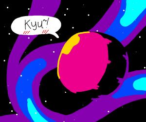 cute alien planet :)