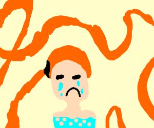 Crying Rapunzel