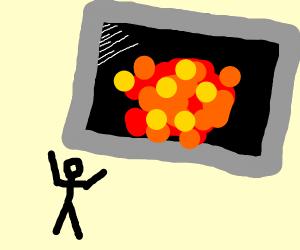 Cinematic Explosion