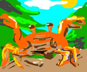 Crab rave - Drawception