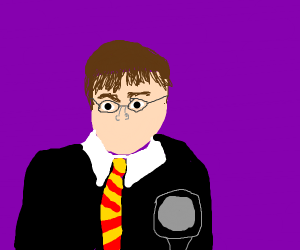 A incomplete drawn harry potter