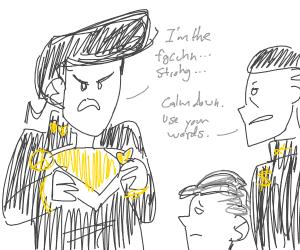 Josuke is the fgcuhn.. ..stronhg