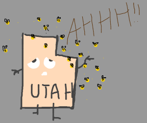 Utah is infested with Bees