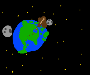 Chocolate Milk is the Earth's second moon