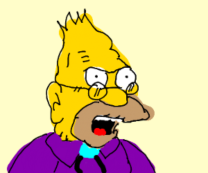 the old man in Simpson