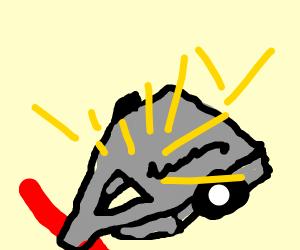 a robot dies