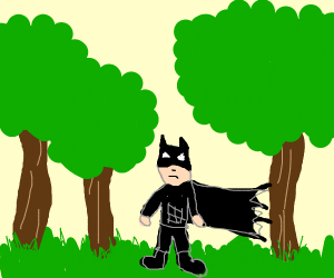 Batman in the Forest
