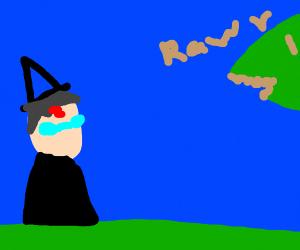 Harry Potter meets a Dinosaur