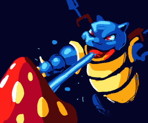 Blastoise vs Parasect