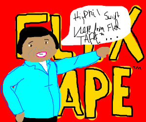 Hi, Phil Swift here with Flex Tape!